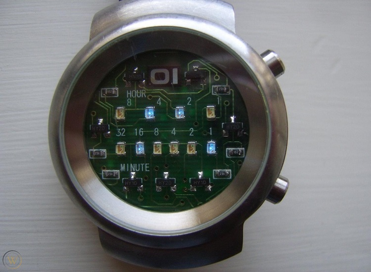 Led Binary Watch - Samui Moon Binary Watches